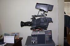 Hitachi Z-4500W  Video Camera With Triax  SDI Studio Package