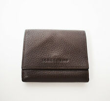 Longchamp Mens Leather Wallet Bifold Brown