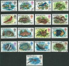 BERMUDA - 1978 'BIRDS & ANIMALS' Definitives Set of 17 FU SG387-403 [A4757]