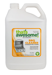 BBQ and Oven Cleaner organic Food Grade Safe Eco friendly 5 litre Australian Mad