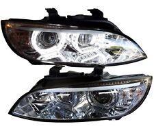 XENON SCHEINWERFER BMW E92 E93 05-02/10 CHROM D1S HID TAGFAHRLICHT LED KLARGLAS