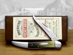 Schatt & Morgan Toothpick Knife Polished Longhorn 1/150 Pocket
