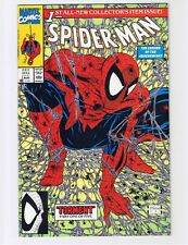 Spider-Man 1990 #1 Green No Bag w/ Spider-Man head - NM+ (unread copy)