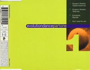 Evolution – Evolutiondancepartone 4-Track CD Single DECONSTRUCTION