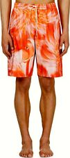 $800.00 NEW KATIE EARY HOT PINK FLAMINGO SWIMWEAR TRUNKS SIZE S AND M FITS 32-36