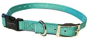 """Sparky PetCo E Collar Compatible 3/4"""" Nylon Double Buckle Quick Snap Replacement"""