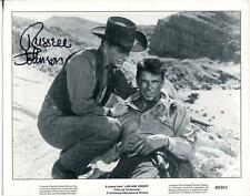 RUSSELL JOHNSON GILLIGANS ISLAND THE TWILIGHT ZONE ACTOR SIGNED PHOTO AUTOGRAPH