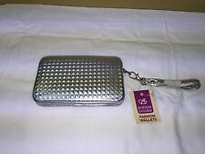 Bobbie Brooks Fashion silver Wallet NWT
