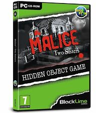 Malice: Two Sisters (PC CD) BRAND NEW SEALED PUZZLE/HIDDEN OBJECT