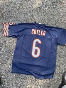 New Chicago Bears Reebok Jay Cutler NFL OnField Jersey Size Men's Extra Large XL