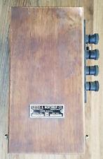 New listing Vintage Leeds & Northrup Reflecting Galvanometer No. 2420-0 Wood Case