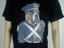 """Fun-T-Shirt """" POLICE DOG - Polizeihund """" schwarz  Größe L NEU"""