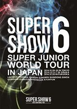 SUPER JUNIOR-SUPER JUNIOR WORLD TOUR SUPER SHOW6 IN JAPAN-JAPAN 2 DVD N44 zd
