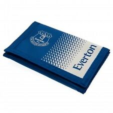 Everton Football Club Crest Blue Nylon Wallet & Zip Compartment