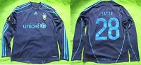 Paul Jatta #28 Brondby IF LONG SLEEVE Match Issue shirt Adidas 2009-2010 SIZE L