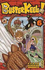 BUSTER KEEL tome 6 SAKAMOTO manga shonen en français