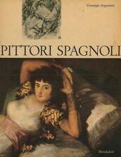 PITTORI SPAGNOLI 1963  DI G. ARGENTIERI STOCK LIBRO VINTAGE BELLISSIMO  REGALO
