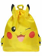 Pokemon Pikachu 3D Yellow Swim Bag NEW