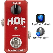 TC Electronic Hall of Fame Mini Reverb Electric Guitar Effects Pedal