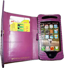 New BANANA REPUBLIC cell phone cell iPhone 4s case credit ATM ID card space BN