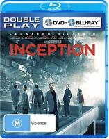 Inception - Leonardo DiCapprio  - Blu-Ray