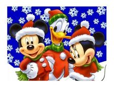 Mickey Mouse Christmas edible cake image cake topper decoration frosting sheet
