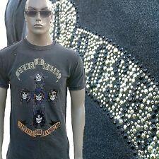 Amplified Guns N 'ROSES appetite for Destruction Rock Star Strass T-shirt G.S