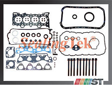 Fit 96-00 Honda 1.6 SOHC Engine Full Gasket Set w/ Bolts D16Y8 D16Y7 D16Y5 motor