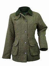Waterproof Windproof Womens/Ladies Tweed Hunting Jacket