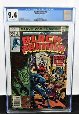 Black Panther #3 (1977) CGC Graded 9.4 Jack Kirby Frank Giacoia Marvel Comics