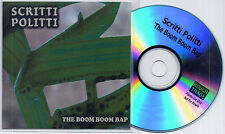 SCRITTI POLITTI The Boom Boom Bap 2006 UK 1-track promo test CD