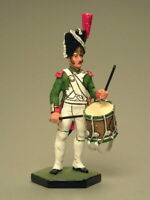 Painted Tin Toy Soldier Grenadier Drummer 54mm 1/32