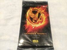 "L@@K NECA 2012 ""THE HUNGER GAMES"" TRADING CARDS FACTORY SEALED PACKET"