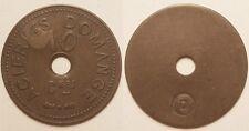 10 Centimes, Acieries Domange (Denain 59, Nord), vers 1920, Très rare !!