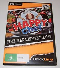 PC CD-ROM - HAPPY CHEF - time management game