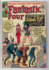 FANTASTIC FOUR #19 (V1) - Grade 4.5 - First appearance of Pharaoh Rama-Tut!