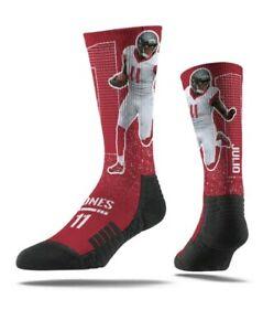 NFL ATLANTA FALCONS JULIO JONES STRIDELINE SOCKS M/L (Shoe size Men 8-12) NEW