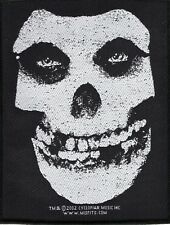 Misfits ' White Skull ' Woven Patch