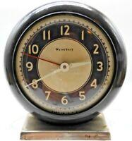 🎁🎄Antique Rare Waterbury Clock Co. Alarm Clock👓