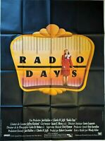 Plakat Kino Radio Days Woody Allen - 120 X 160 CM