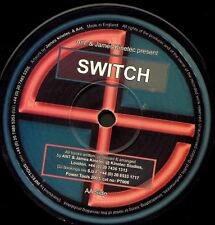 """ANT & JAMES KINETIC switch (techno 2001) 12"""" EX PT006 power tools uk"""