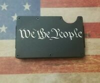 We The People  RFID tactical minimalist wallet