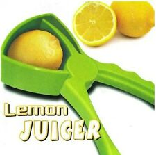 Lemon Lime Squeezer 2In1 Manual Hand Held Juicer Orange Citrus Fruit Juice Press