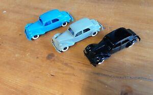 Lot De 3 Voitures Traction Citroën Bonus Vintage Bon État