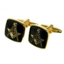 Color Oro Masons massonica GEMELLI & Sacchetto Regalo SMART regalo per lui NUOVO