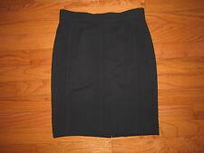 Akris Punto Black Wool Skirt size 14