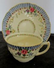 GOLD BEADED CUP/&SAUCER SET #8627 ANTIQUE ROYAL DOULTON HEAVY GOLD ENCRUSTED