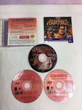 Interplay Gamefest Redneck Rampage LOT Vintage PC 5 Games Early Rides Grits Deer