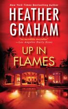 Heather Graham UP IN FLAMES Unabridged CD *NEW* FAST Ship!