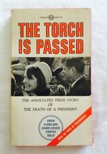 THE TORCH IS PASSED: By Associated Press PB Parallax Books & FREE GIFT WITH ORDE